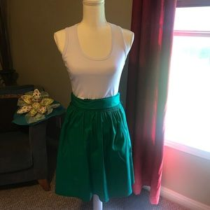 Ladies green tank dress VERY CUTE small